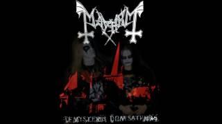 Mayhem - De Mysteriis Dom Sathanas (Dead on vocals)