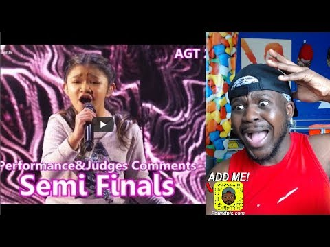 "Angelica Hale Phenomenal ""Without You"" Semi Finals America's Got Talent 2017 REACTION"