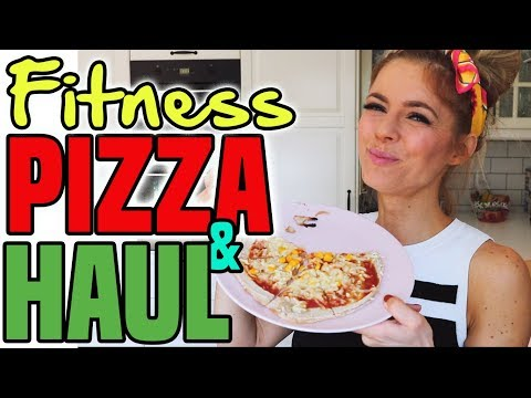 Fitness HAUL & Protein Pizza | Fitness Food Einkauf Unboxing