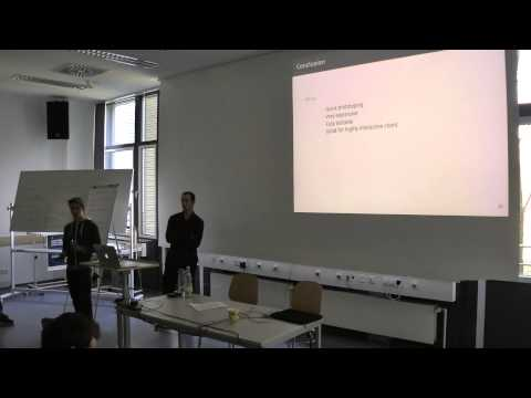 JavaScript Seminar - Web development frameworks, Group 9