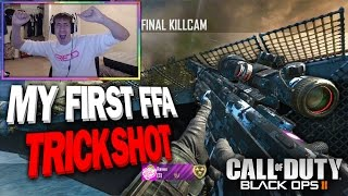 I HIT MY FIRST BO2 FFA TRICKSHOT!