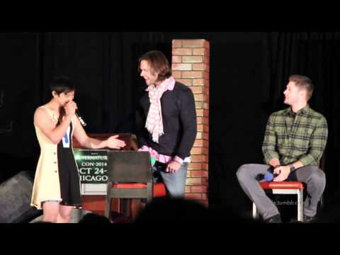 Osric Chau crashes Jared and Jensen's panel  Chicon 2014