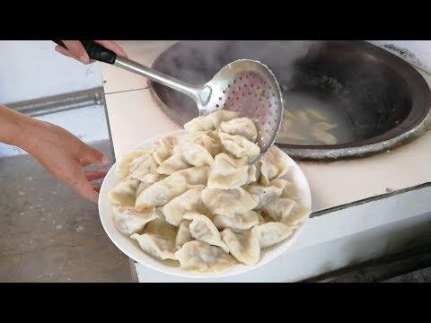酸菜水饺,这味道没得挑,饿了妥妥吃下一盘||胖嫂show