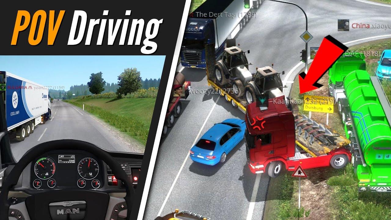 TruckersMP 1.37 - Calais → Duisburg | POV Driving | Euro Truck Simulator 2 Multiplayer | Toast
