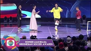 Download lagu Kocak! Pemain Internasional Ronaldirga bikin Ramai Suasana - Klb Indonesian Soccer Awards 2020