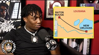 Fredo Bang on the differences between New Orleans & Baton Rouge (The Bootleg Kev Podcast)