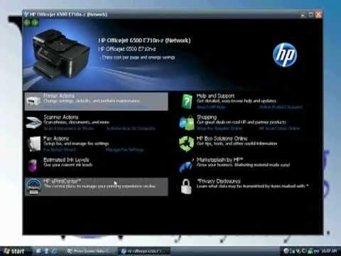 hp officejet 6500 wireless driver windows 7