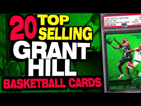 20-top-selling-grant-hill-basketball-cards-w/-rookie-cards