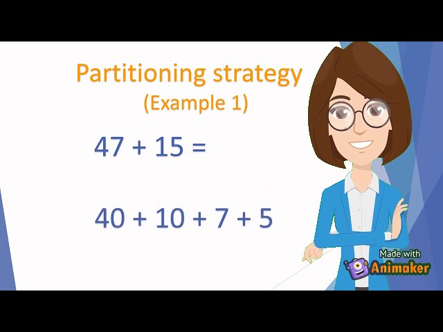 Addition Strategies: Partitioning Numbers