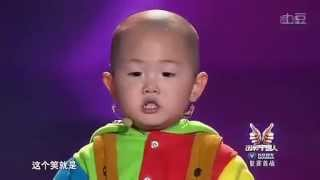 Repeat youtube video Zhang Junhao, the amazing 3-year-old dancing boy in China