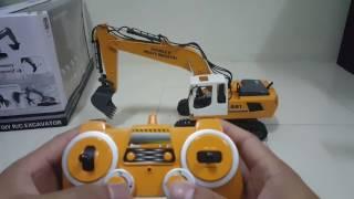 RC Excavator 17 CH Test