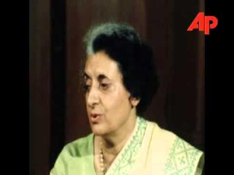 Mrs Indira Gandhi Interview On Democracy In India 09/23/1976