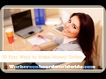 How To Make Money Fast Online The Real Way To Make $10,000 Per Day