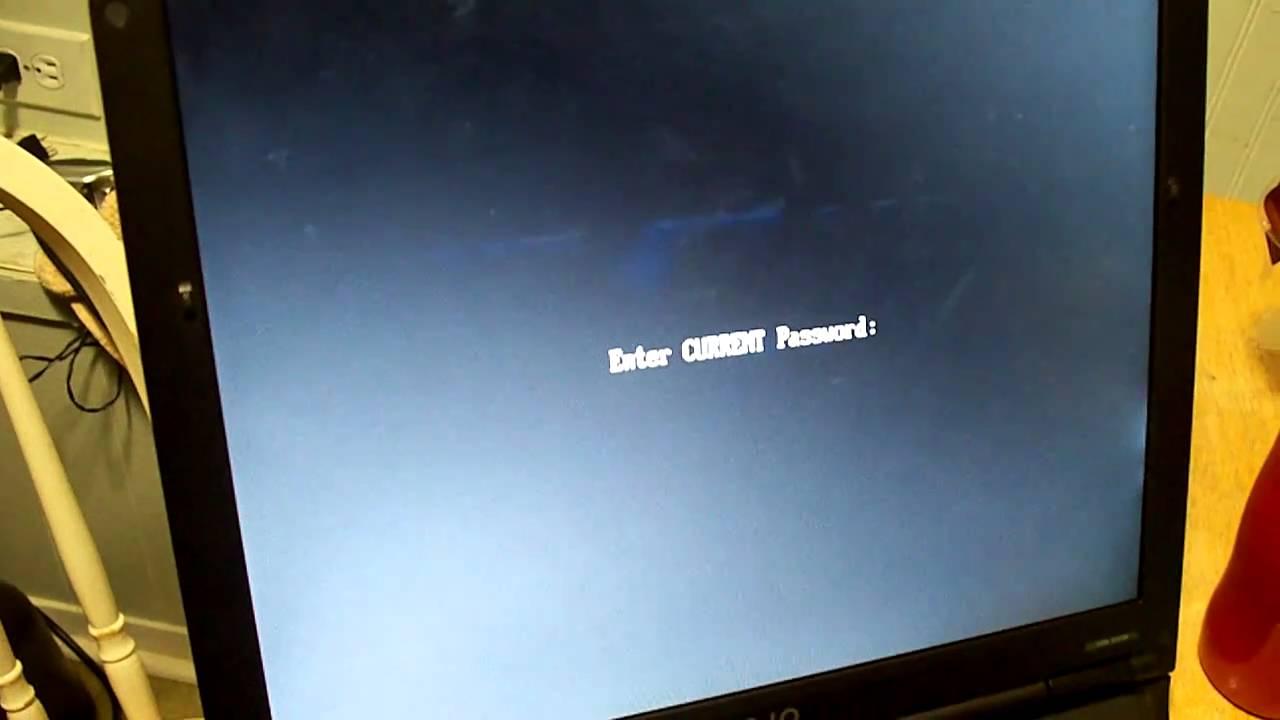 how to reset sony laptop cmos