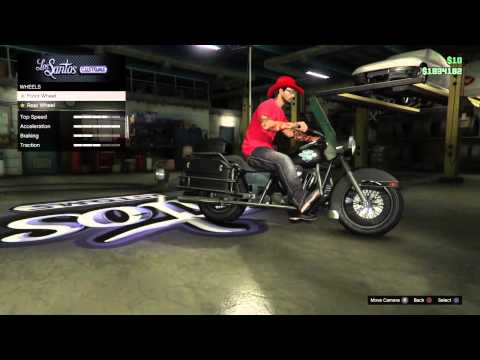 GTA V Online - How to put Crew Emblems on Motorcycles ...