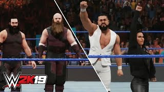 WWE 2K19 New Gameplay - Andrade Cien Almas, Shinsuke Nakamura, Bludgeon Brothers, New Day & More!