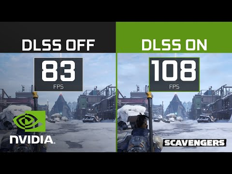 Scavengers | 4K NVIDIA DLSS Comparison - Early Access Available Now