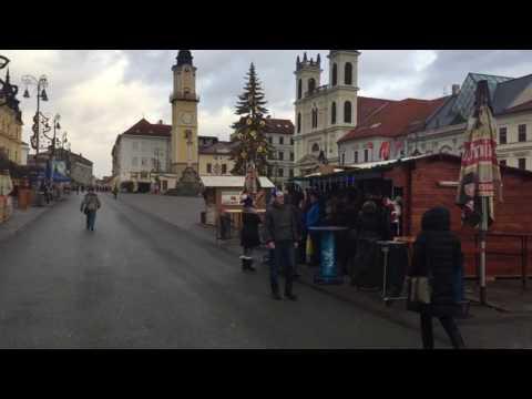 Christmas market in banska bystricka Slovakia