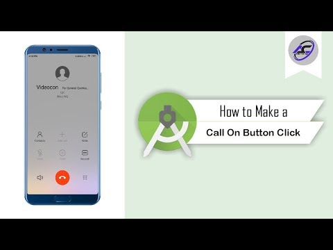 How To Make A Call On Button Click In Android Studio | MakePhoneCall | Android Coding
