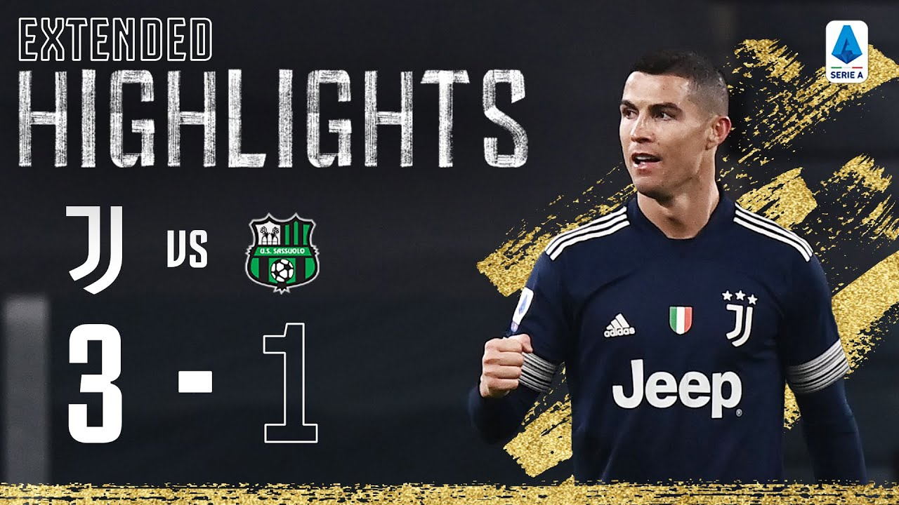 Juventus 3-1 Sassuolo | Ramsey & Ronaldo Secure win with Late Goals! | EXTENDED Highlights - скачать с YouTube бесплатно