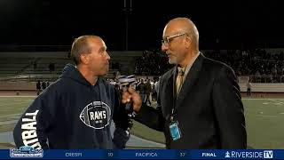LIVE High School Football - Ramona vs Alhambra