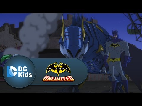 Boardwalk Battle | Batman Unlimited | DC Kids