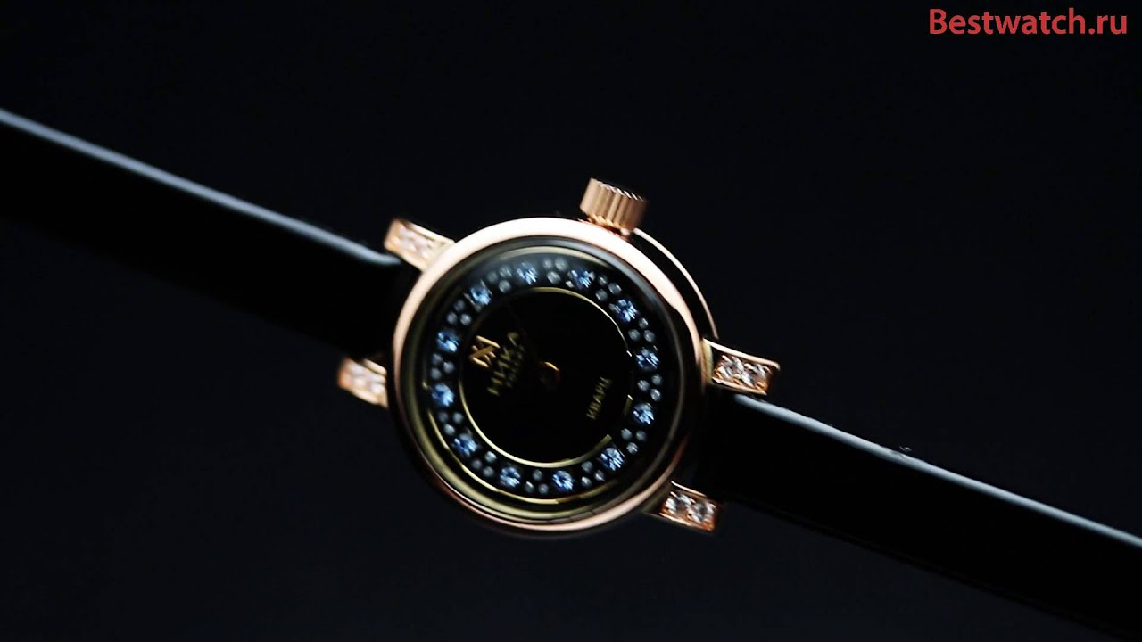 Обзор. Женские наручные часы Ника серебряные 1807.2.9.54 - YouTube