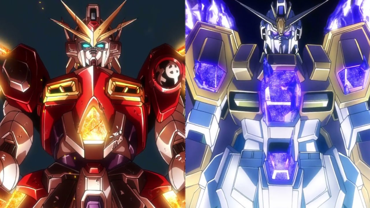 Gundam build fighters try island wars special anime review for Domon kasshu build fighters try