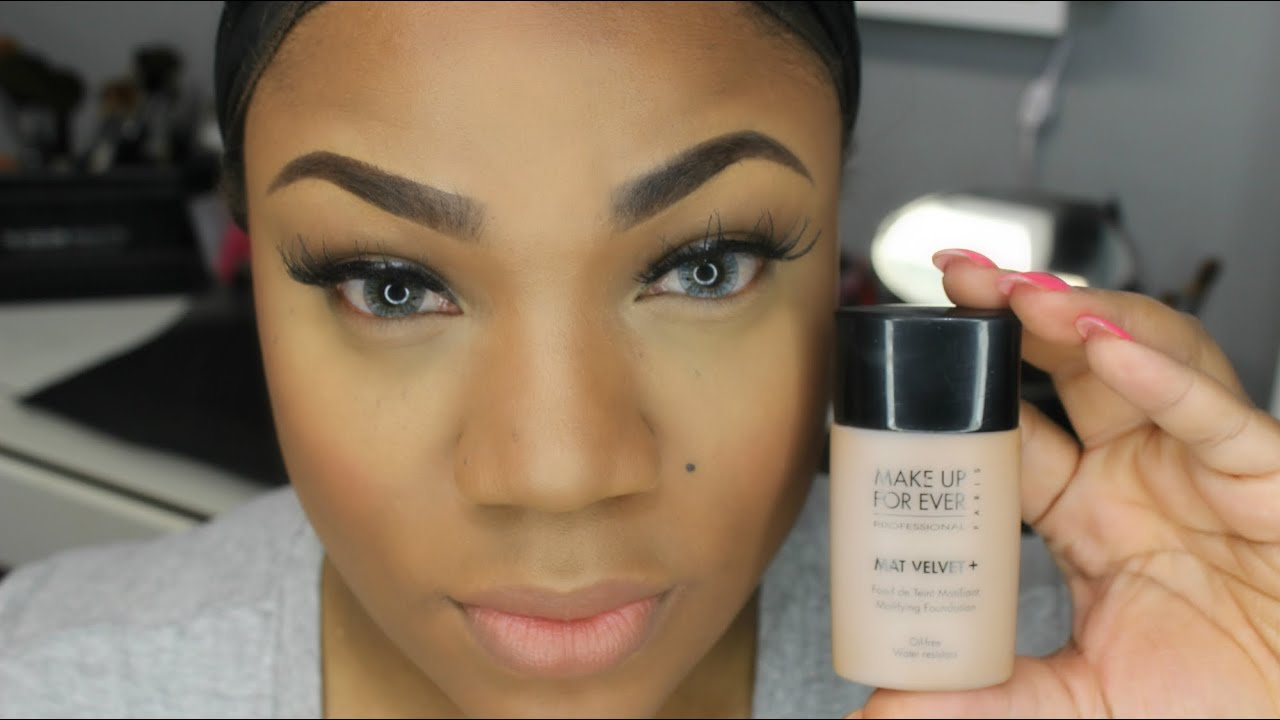 Foundation Routine Mufe Mat Velvet Foundation Review