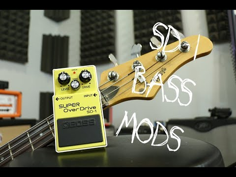 This one's for the Bassists... Boss sd-1 mods for bass guitar