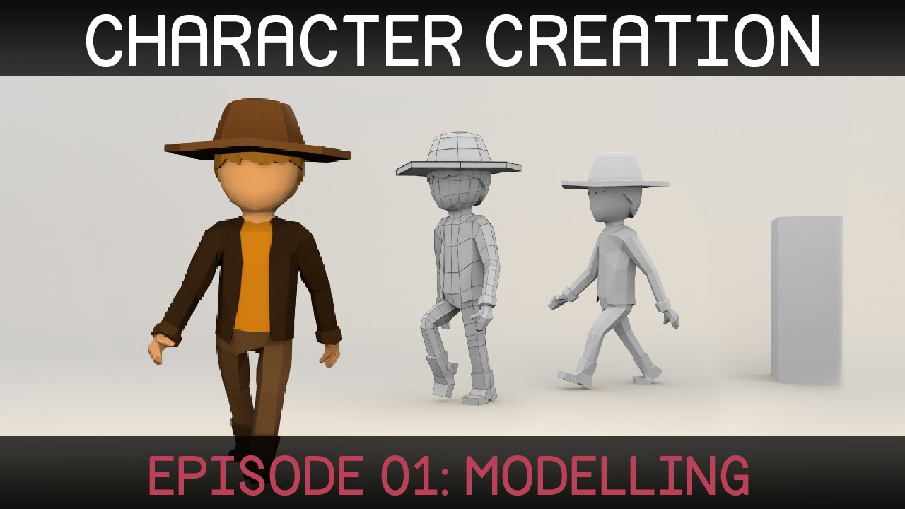 Blender Character Creation Modelling Youtube