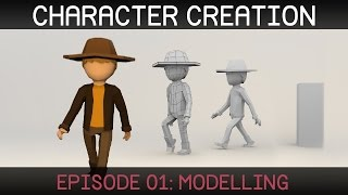 Blender Character Creation: Modelling by Sebastian Lague