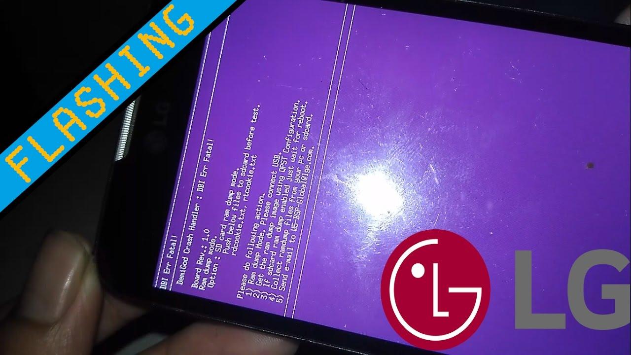 Tutorial Flashing Install Ulang Lg D325 L70 Youtube