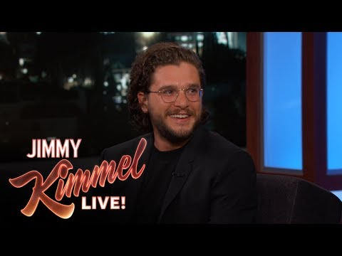 Jimmy Kimmel's ThreeYearOld Daughter Has a Crush on Kit Harington
