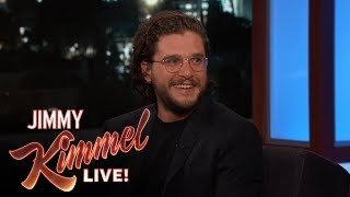 Jimmy Kimmel's Three-Year-Old Daughter Has a Crush on Kit Harington
