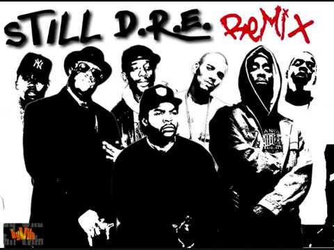 2Pac ft. Ice Cube, Biggie, Mobb Deep, Nas, The Game & Jay Z -Still DRE REMIX