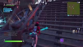 Jugando al fortnite en squad con amigos