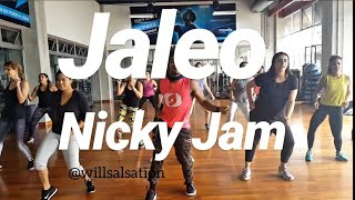 Jaleo Nicky Jam feat Steve Aoki Coreografia will sanchez choreography Video