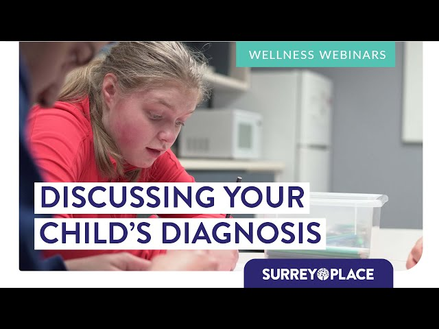 Discussing Your Child's Diagnosis