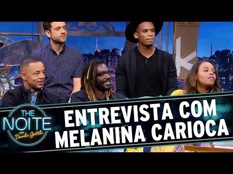 The Noite (30/09/16) -  Entrevista com Melanina Carioca