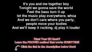 Akon - Louder ft. Natalia Kills - Lyrics ( HQ Music )