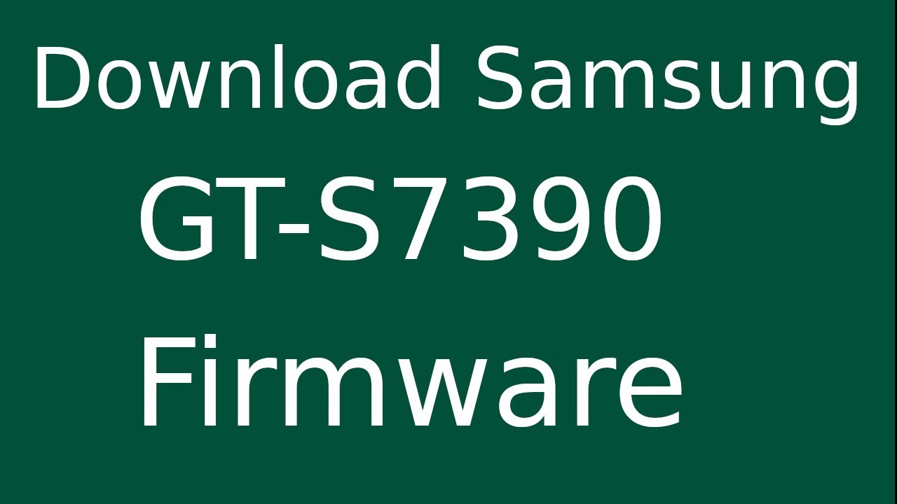 How To Download Samsung Galaxy Trend Lite GT-S7390 Stock Firmware (Flash File) For Update Device