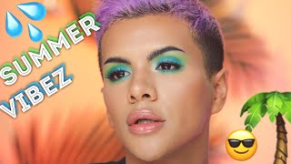 Colorful Summer Glam (Lunar Beauty, ipsy, Fenty) | Gabriel Zamora