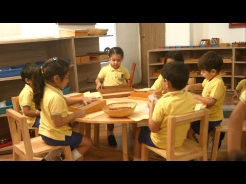 Montessori in Classroom - Language Development