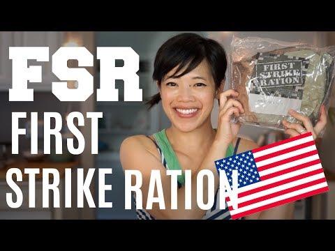 FIRST STRIKE RATION Menu 6 | FSR Military Ration Taste Test