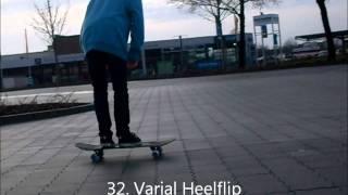 49 Flatground Skate Tricks