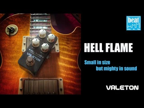 """[BeatMMM] VALETON Coral Series """"Hell Flame"""" Extreme Distortion Pedal Demo by Jackel Pun"""