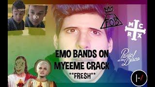 *FOR CRANKTHATFRANK* // Emo bands on myeeme crack **fresh**