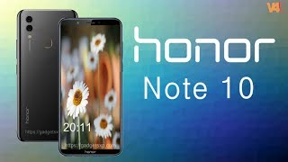 Honor Note 10 with 5000mAh Battery, Price, Release Date, Official Video, Trailer, Specs, Features