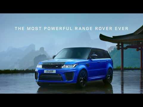 Range Rover Sport SVR - Tianmen Road Onboard